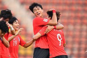 Siêu phẩm 'quả chuối' ở phút bù giờ đưa Hàn Quốc vào bán kết U23 châu Á