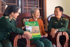 BĐBP Đắk Lắk kiểm tra công tác bảo đảm an ninh trật tự khu vực biên giới dịp Tết Nguyên đán Canh Tý 2020