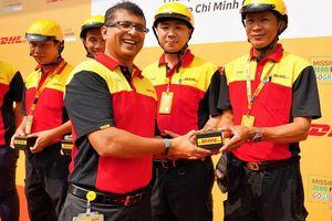 DHL đưa xe máy điện vào danh mục giao nhận 'xanh' tại Việt Nam