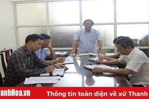 Huyện Quảng Xương: Tăng cường kiểm tra, giám sát phục vụ đại hội đảng bộ các cấp