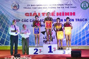 Giải thể hình cúp các câu lạc bộ huyện Nhơn Trạch lần I-2020