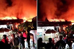 Quảng Nam: Cháy tiệm tạp hóa trong đêm, thiệt hại hàng tỷ đồng