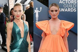 Scarlett Johannson và dàn mỹ nhân chuộng váy lộ vòng một tại thảm đỏ