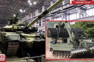 Tăng T-90S Việt Nam sẽ có cận vệ BREM-1M đi kèm