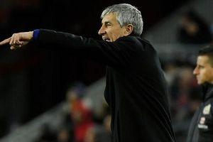 Ra mắt Barcelona, HLV Quique Setien lập ngay kỷ lục