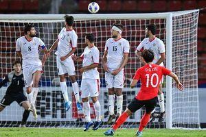 Siêu phẩm sút phạt đưa Hàn Quốc vào bán kết U23 châu Á 2020!Siêu phẩm sút phạt đưa Hàn Quốc vào bán kết U23 châu Á 2020!