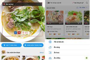 Xuất hiện mạng xã hội ẩm thực ứng dụng AI