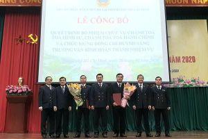 Nhân sự mới tại TP.HCM, Bình Thuận, Quảng Ninh