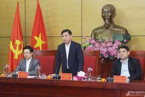 Thường trực Tỉnh ủy Nghệ An gặp mặt các đồng chí lãnh đạo tỉnh qua các thời kỳ