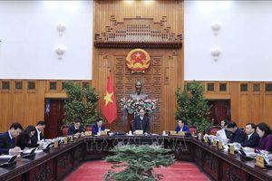 Thủ tướng chủ trì phiên họp Thường trực Chính phủ về chuẩn bị phục vụ Tết Nguyên đán