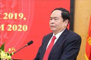 Chủ tịch Ủy ban Trung ương MTTQ Việt Nam chúc Tết, tặng quà tại tỉnh Sóc Trăng