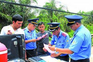 Thanh tra giao thông Đồng Nai tăng cường công tác kiểm soát tải trọng xe