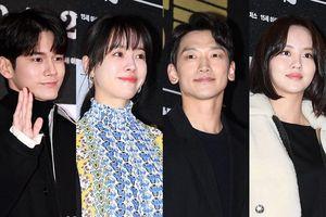 Han Ji Min - Bi Rain, Kim So Hyun cùng loạt sao Hàn dự công chiếu VIP phim của Lee Byung Hun