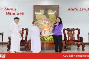 Các tổ chức tôn giáo chúc Tết Tỉnh ủy An Giang