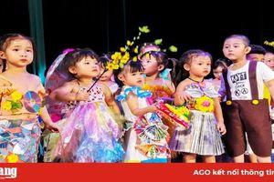 Trường Mầm non Sen Hồng - Nhà Thiếu nhi An Giang tổ chức Hội thi bé khỏe, bé đẹp mừng Xuân Canh Tý 2020