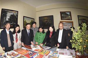 Khai mạc trưng bày báo Xuân Canh Tý 2020 và triển lãm nghệ thuật