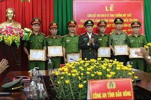 Khen thưởng đột xuất cho các đơn vị lập thành tích xuất sắc trong đợt cao điểm