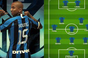 Đội hình lý tưởng của Inter Milan khi Ashley Young tái hợp Lukaku