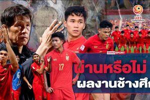 Báo Thái Lan: 'So với U23 Việt Nam, U23 Thái Lan tốt hơn'