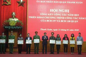 Quận Thanh Xuân: Giải tỏa hết các điểm vi phạm trật tự đô thị