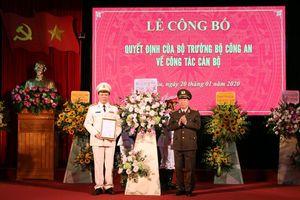 Công bố quyết định bổ nhiệm Giám đốc Công an tỉnh Lai Châu