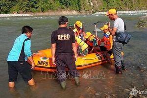 Indonesia: Sập cầu, 7 người chết, 3 người mất tích