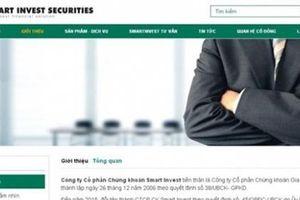 CTCP Chứng khoán SmartInvest dính nhiều vi phạm trong lĩnh vực chứng khoán