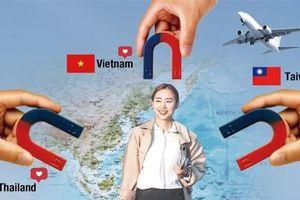 Việt Nam, Thái Lan, Đài Loan cạnh tranh để thu hút khách du lịch Hàn Quốc