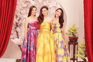 Top 3 Hoa hậu Hoàn vũ xinh đẹp, rạng rỡ trong bộ ảnh Chào năm mới!