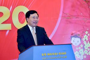 Năm 2020, ngoại giao Việt Nam đảm nhận trọng trách mang tầm vóc toàn cầu