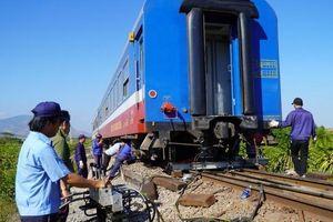 Xử lý xong sự cố trên đường sắt Bắc - Nam