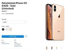 Apple bắt đầu bán iPhone XS/XS Max Refurbished, giá rẻ hơn 300 USD