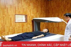 Bệnh viện PHCN Hà Tĩnh áp dụng phương tiện khám chữa bệnh hiện đại phục vụ bệnh nhân