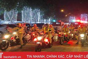 Công an TP Hà Tĩnh lập tổ công tác 'đặc biệt' đảm bảo ANTT dịp Tết Nguyên đán