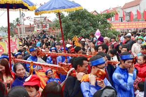 Lễ hội Tiên Công - Lễ hội 'rước người' độc đáo ở Hà Nam
