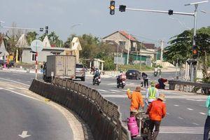 'Chạy nước rút' hoàn thành cải tạo các điểm mất ATGT trên QL1 qua Quảng Trị