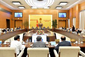 Kết luận của Ủy ban Thường vụ Quốc hội Tại Phiên họp thứ 41