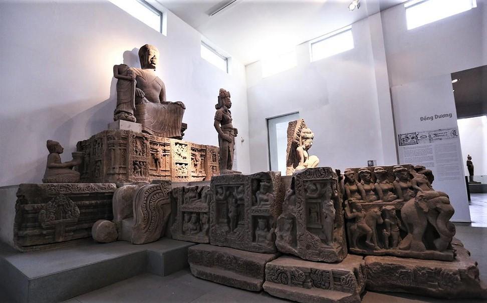 Chiêm ngưỡng bảo vật quốc gia tại Bảo tàng Điêu khắc Chăm lớn nhất Việt Nam