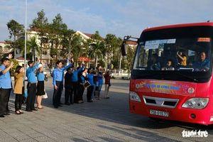 Đà Nẵng đưa 2.500 lao động về quê ăn Tết