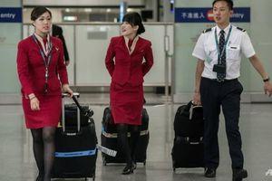 Virus lạ lây lan, tiếp viên Cathay đòi đeo khẩu trang mọi chuyến bay