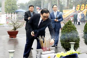 Lãnh đạo Đảng, Nhà nước và Hà Nội viếng Chủ tịch Hồ Chí Minh
