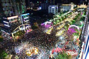 TP Hồ Chí Minh bố trí 1.000 người giữ an ninh đường hoa Nguyễn Huệ