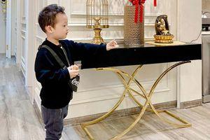 Con trai Ly Kute chưa được 4 tuổi đã ra dáng hot boy, khối người xin 'góp gạo'