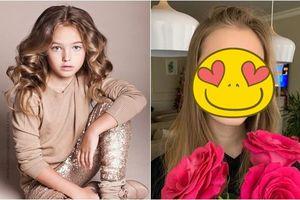 Màn dậy thì xuất sắc của Người mẫu nhí Nga 'đẹp hơn tranh vẽ'