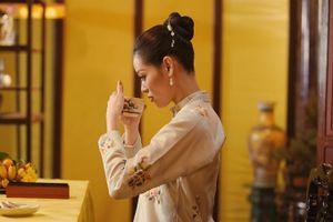 Hoa hậu Khánh Vân đóng phim cung đấu