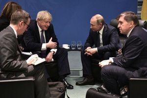 Nga 'lên tiếng' về cuộc gặp của Tổng thống Putin và Thủ tướng Anh Johnson