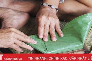 Phạm nhân Trại giam Xuân Hà tự tay gói 3.0000 chiếc bánh chưng đón Tết