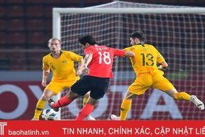 Thắng U23 Australia, U23 Hàn Quốc gặp U23 Saudi Arabia ở chung kết