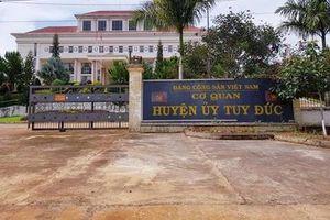 Kỷ luật 3 cán bộ vi phạm kỷ luật Đảng tại huyện Tuy Đức, tỉnh Đắk Nông