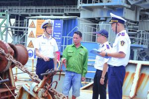 Cảng vụ Đường thủy nội địa Khu vực I siết chặt quản lý đảm bảo an toàn hoạt động cảng, bến